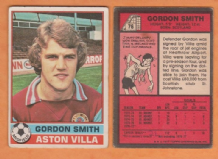 Aston Villa Gordon Smith Scotland 76